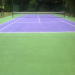 Coloured Macadam Tennis Courts in Arthington 6