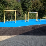 Coloured Macadam Tennis Courts in Ashey 2