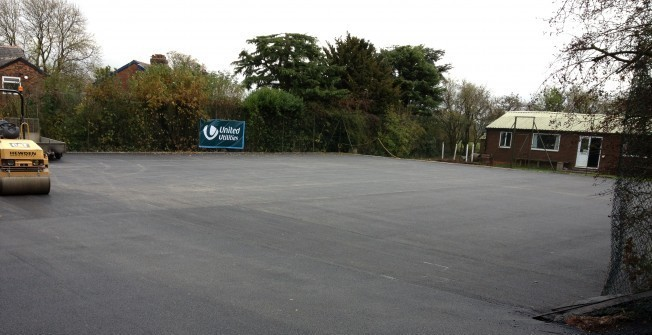 Macadam Coloured Driveways in Arbury