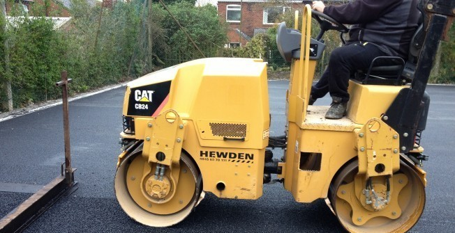 Colouring Macadam Drives in Atherstone