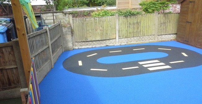 Wetpour Playground Surfaces in Hampshire