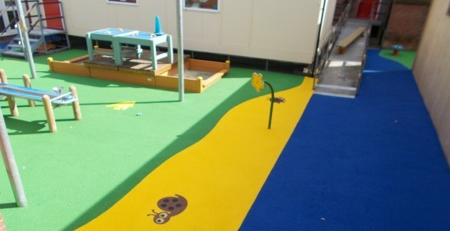 Rubber EPDM Surfacing in Hampshire